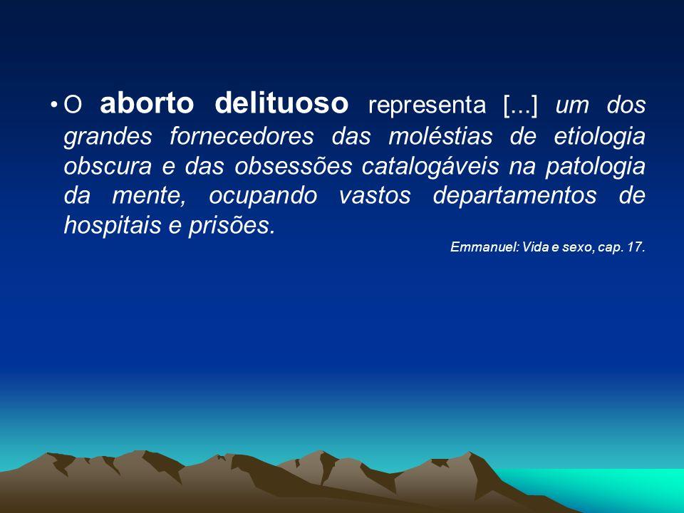 O aborto delituoso representa [